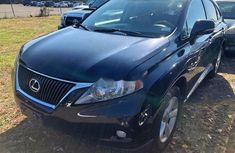 Nigeria Used Lexus RX 2010 Model Blue