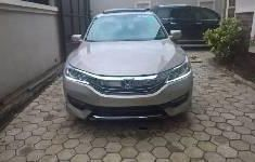 Foreign Used Honda Accord 2017 Model Gold
