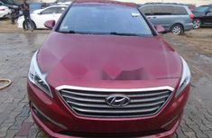 Foreign Used Hyundai Sonata 2015 Model Red