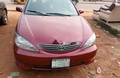 Nigeria Used Toyota Camry 2005 Model Red