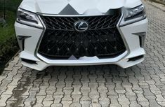 Foreign Used Lexus LX 2017 Model White