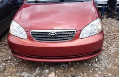 Foreign Used Toyota Corolla CE 2005 Model Red