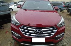 Nigeria Used Hyundai Santa Fe 2017 Model Red
