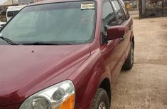 Foreign Used Honda Pilot 2005 Model Red