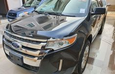 Foreign Used Ford Edge 2012 ,Model Black