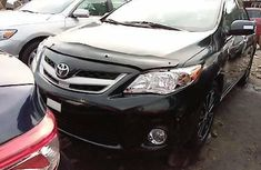 Foreign Used Toyota Corolla 2012 Model Black