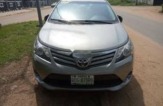 Nigeria Used Toyota Avensis 2013 Model Silver
