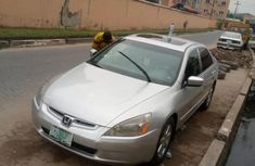Nigeria Used Honda Accord 2004 Model Silver