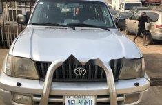Nigeria Used Toyota Land Cruiser Prado 2003 Model Silver