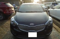Nigeria Used Kia Cerato 2013 Model Black