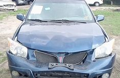 Foreign Used Pontiac Vibe 2006 Model Blue