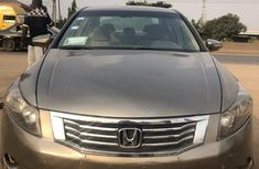 Nigeria Used Honda Accord 2009 Model Brown