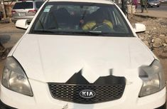 Nigeria Used Kia Rio 2008 Model White