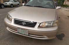 Nigeria Used Toyota Camry 2001 Model Gold