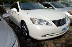 Foreign Used Lexus ES 2010 Model White