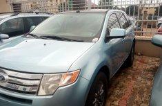 Nigeria Used Ford Edge 2008 Model Blue