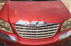 Foreign Used Chrysler Pacifica 2005 Model Red