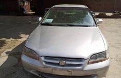 Nigeria Used Honda Accord 2001 Model Gold