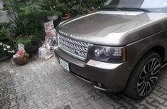 Nigeria Used Land Rover Range Rover Vogue 2012 Model Gray