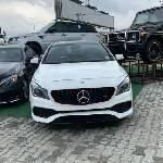 Foreign Used Mercedes-Benz CLA-Class 2017 Model White
