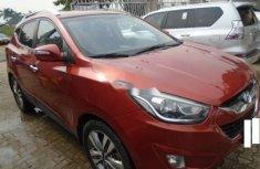 Nigeria Used Hyundai ix35 2015 Model Orange