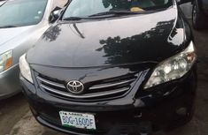 Nigeria Used Toyota Corolla 2012 Model black
