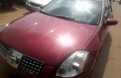 Foreign Used Nissan Maxima 2005 Model Red