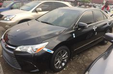 Foreign Used Toyota Camry 2017 Model Black