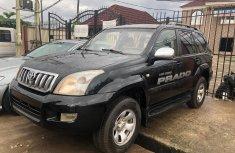 Nigeria Used Toyota Land Cruiser Prado 2008 Model Black