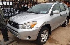 Foreign Used Toyota RAV4 2006 Model Silver