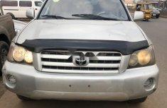 Nigeria Used Toyota Highlander 2003 Model Silver