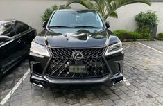 Nigeria Used Lexus LX 2018 Model Black