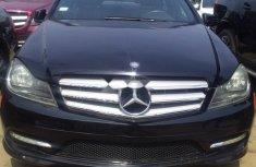 Nigeria Used Mercedes-Benz C350 2012 Model Black