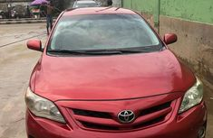 Nigeria Used Toyota Corolla 2008 Model Red for Sale