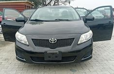Very Clean Foreign used Toyota corolla 2010 Model