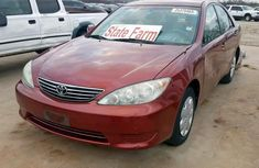 Foreign Used Toyota Camry 2004 Model Red for Sale
