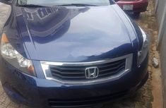 Foreign Used Honda Accord 2008 Model Blue