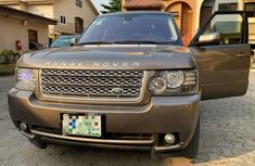 Nigeria Used Land Rover Range Rover Vogue 2012 Model Gold