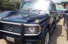 Nigeria Used Mercedes-Benz G550 2007 Model Green