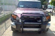 Nigeria Used Toyota FJ CRUISER 2008 Model Brown