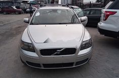 Foreign Used Volvo V50 2008 Model Silver