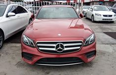 Foreign Used Mercedes-Benz E300 2016 Model Red