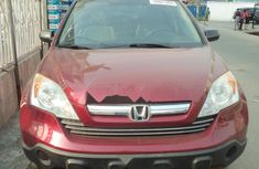 Foreign Used Honda CR-V 2008 Model Red