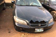 Nigeria Used Honda Accord 2000 Model Black