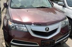 Foreign Used Acura MDX 2011 Model Red