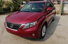 Neat Nigerian used 2010 Model Lexus RX350