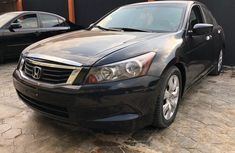 Nigeria Used Honda Accord 2010 Model Black for Sale