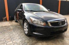 Nigeria Used Honda Accord 2010 Model Black for Sale