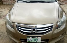 Nigeria Used Honda Accord 2008 Model Gold for Sale