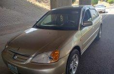 Nigeria Used Honda Civic 2001 Model Gold